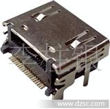厂家低价直销 HDMI 插座  hdmi端子  hdmi镀金 连接器