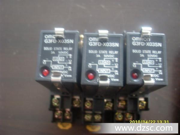 欧姆龙固态继电器,g3f-203sn(图)图片