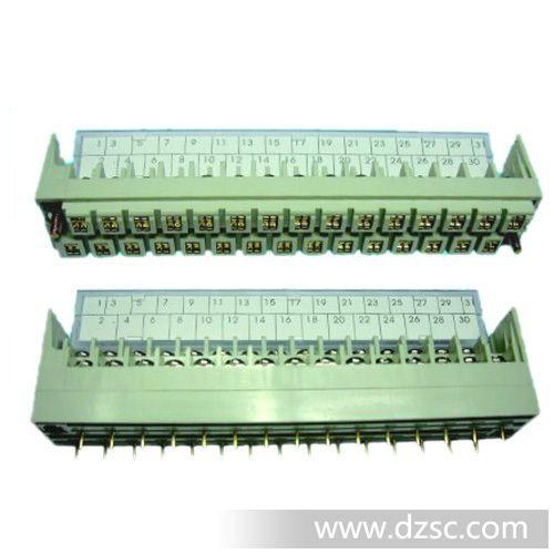 三菱PLC专用端子台三菱PLC专用接线端子图片