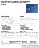 905nm 25W 脉冲激光二极管-测距激光管