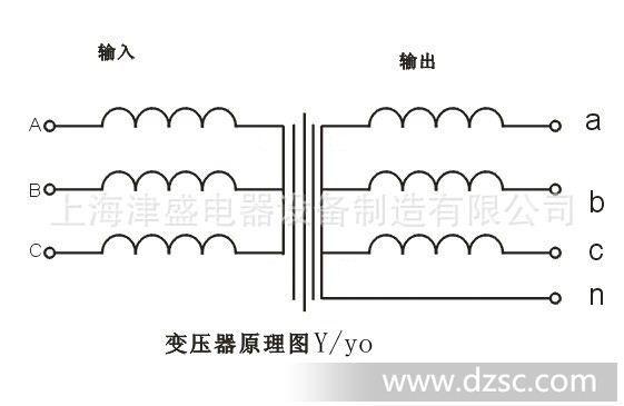 三相五线隔离变压器接线图