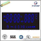 7段蓝色共阳温度显示数码管  7位数字温度显示数码管