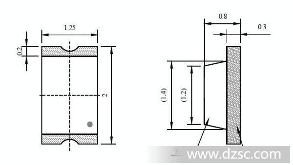 发光二极管 结构:面接触型 材料:镓(ga) 封装形式:贴 led发光二极管