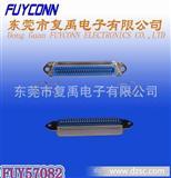 RJ21 57(CN)-180度36PIN 50PIN 母新四孔附耳4.2pcb板连接器