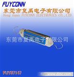 DDK/57(CN)-36P母新四孔带耳扣夹板式连接器(centronic/TYCO)