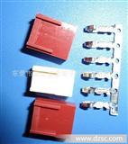 东莞连接器生产厂家,MX2.54胶壳,砖红色,2.54连接器,2.54端子