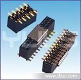1.27mm 排母 双排 SMT(带内柱/夹持盖)