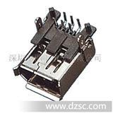 1394 6F 90度 直插 、铜壳、高质量、1394连接器