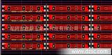专注于生产低碳5050硬灯条铝基板1米60 72灯12V高精密度PCB线路板