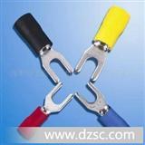 厂家SV1.25-3系列冷压端子,叉型预绝缘端头.(每袋1000个)