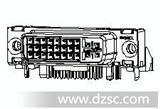 MOLEX743020202 DVI连接器