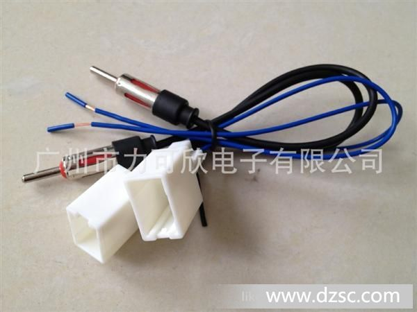 供应汽车专车专用天线lkx01 天线插头 汽车线束生产厂家高清图片