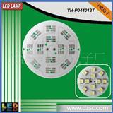 电路板 12LED 5050贴片线路板直径44mm 12v 220V 两款都有