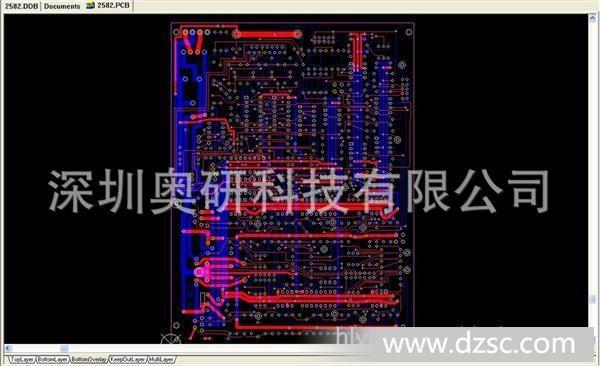 电视机板pcb抄板,设计原理图,bom清单