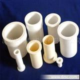 《真空炉内氧化铝陶瓷护管、套管 氧化铝陶瓷法兰》