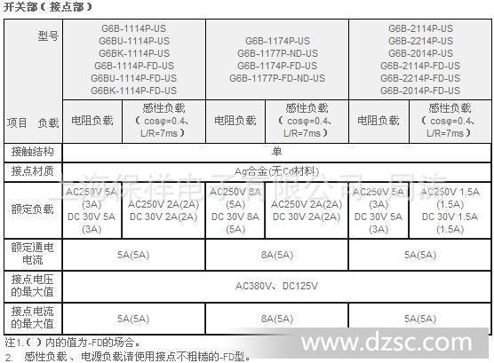 功率_omron 欧姆龙g6b功率继电器接线插座p6b-04p