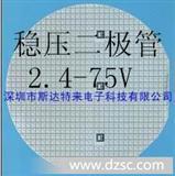 稳压二极管芯片、晶圆、裸片 2.4V-75V