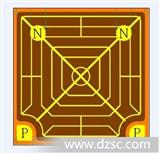 原厂标签光宏1W42MIL高亮双电极红光黄光芯片,四个电极适做集成