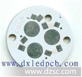 LED铝基板   路灯铝基板   高散热型  9*1W      78*78MM
