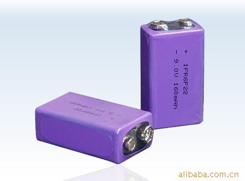 9v锂电池/磷酸铁锂电池/锂电池/9v充电图片