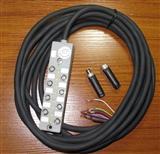 M8分配器,PUR与PVC电缆任选,电缆长度任选