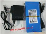 12V 6500MA大容量聚合物可充电电池带充电器