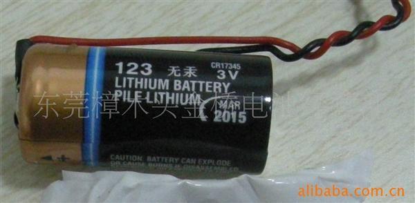金霸王duracell3v锂电池英文版图片