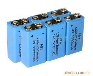 供应新一代无滞后9v锂电池图片