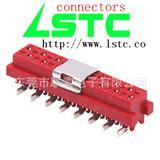 IDC,红色IDC母座,SMT贴片,PCB板端