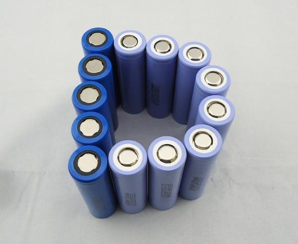圆柱锂电池 icr18650电芯2000mah