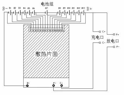 锂电池保护板接线图