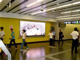 地铁内全彩色LED广告屏承建价格 产品讲解