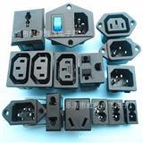三合一电源插座 安装式工业AC插座AC-015
