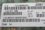 AVX钽电容 NEC钽电容基美钽电容TPSE106M050R0100