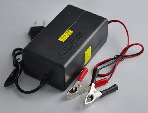 批发蓄电池充电器12v 铅酸电池充电器12v 电动玩具