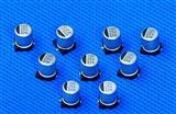 贴片铝电解电容器(SYB标准品系列)100UF/25V  贴片铝电解电容器(SYB标准品系列)100UF/25V