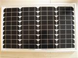 正品A级35W单晶太阳能电池板 电池组件 10年质保 金太阳认证