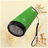 【厂家直销】YJ-709 5leds新型塑料电池手电筒 led手电筒