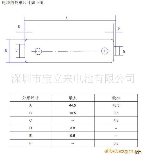aaa电池尺寸_aaa电池成分_aaa电池型号