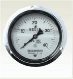 轴边耐震压力表