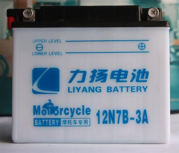 优质摩托车电池12n7b-3a