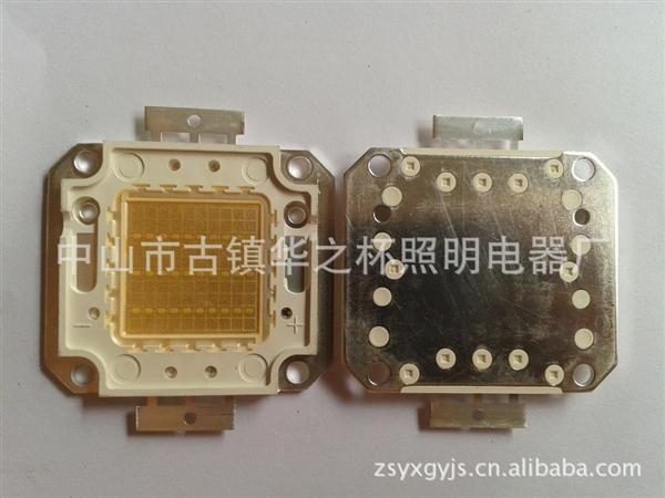 供应20w紫光大功率led灯珠 光源 采用蓝光35mil芯片 集成10串2并