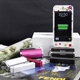 苹果iphone5直充背夹电池外置移动电源 外挂电池充电宝器直插电源
