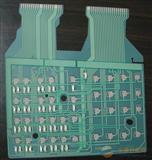 数控传真机薄膜线路,银浆绿油薄膜开关,软性线路板,PET线路