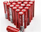 厂价直销C8手电筒电池 强光LED手电筒充电电池18650锂电池批发