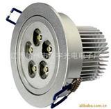 铝合金大功率灯珠吸顶灯LED天花灯5W7W9W电视背景墙射灯筒灯