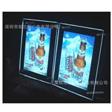 AA电池盒LED水晶灯箱,4节5号电池即可使用,方便又美观