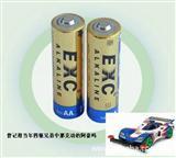 四驱车比赛专用无限动力电池—EXC5号AA碱性电池