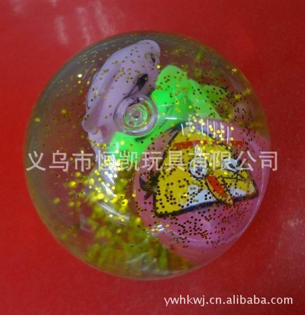 55mm闪光弹力球 通过水细菌