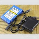 足量1800毫安 可充电电池12V锂电池 荧光板电源 聚合物电池